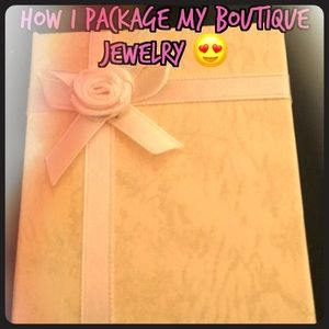 How I Package my Boutique Jewelry